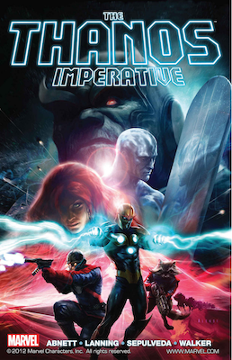 The Thanos Imperative Graphic Novel. Click to order from Amazon