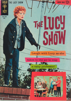 The Lucy Show #1 (1963), Gold Key. Click for values