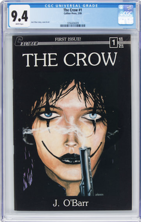 Rare and VERY pricy in 9.8, we recommend a CGC 9.4 of The Crow 1 -- best bang for your buck. Click to buy a copy