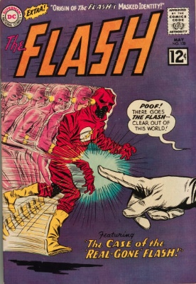 Origin and First Appearance, Abra Kadabra, Flash Comics #128, DC Comics, 1962. Click for appraisal