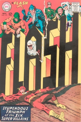 Origin and First Appearance, Tar Pit, Flash (vol 2) #174, DC Comics, 2001. Click for value