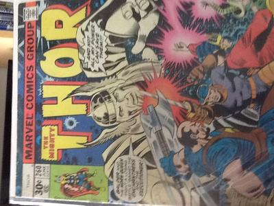 The Mighty Thor #260 and #290 Value?