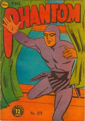 The Phantom #375 is worth about $35 Australian