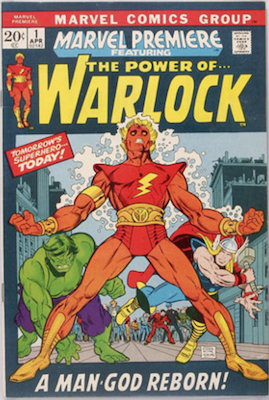 The Power of Warlock #1. Click for values.