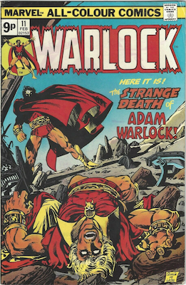 The Power of Warlock #11. Click for values.