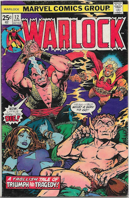 The Power of Warlock #12. Click for values.