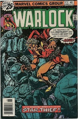 The Power of Warlock #13. Click for values.