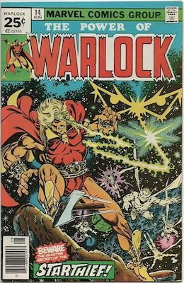 The Power of Warlock #14. Click for values.