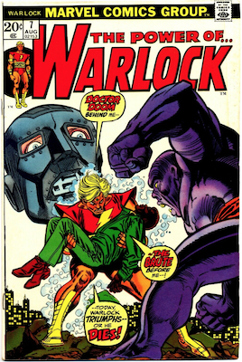 The Power of Warlock #7. Click for values.