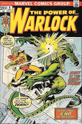 The Power of Warlock #8. Click for values.