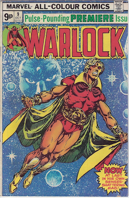 The Power of Warlock #9. Click for values.