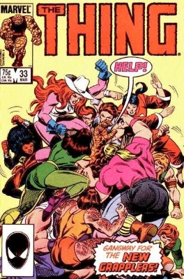 Origin and First Appearance, Battleaxe, The Thing #33, Marvel Comics, 1986. Click for value