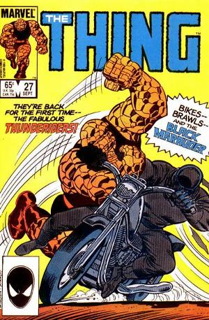 Sharon Ventura (First Appearance, The Thing #27, September, 1985). Click for value