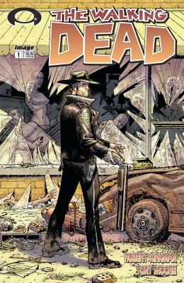 Walking Dead #1 (2003): First issue of the series of modern horror comic books; TV show drives values. Click for value