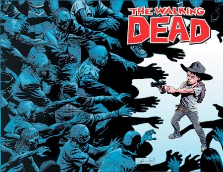 Walking Dead #50 Wraparound cover. Record sale in CGC 9.8 $150. Click to buy yours