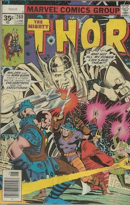 Thor #260 Marvel 35 Cent Variant