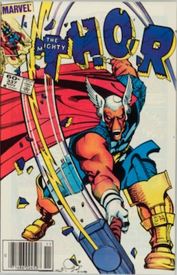 Thor #337: Origin and first appearance of Beta Ray Bill. Click for value