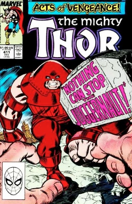 Thor #411: First appearance of New Warriors. Click for value