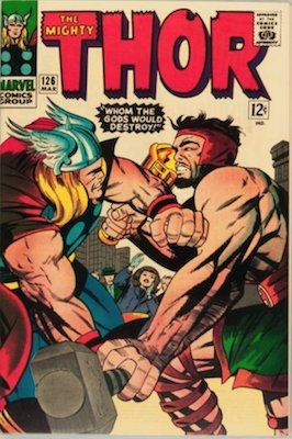 Thor #126: First issue of the solo ongoing series. Click for values