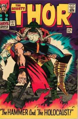 Pluto (First Appearance: Thor #127, April, 1966). Click for value