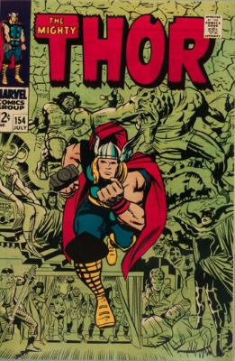 Mangog (First Appearance: Thor #154, July, 1968). Click for value