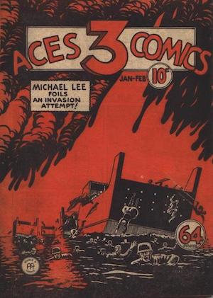 Three Aces Comics v1 #2