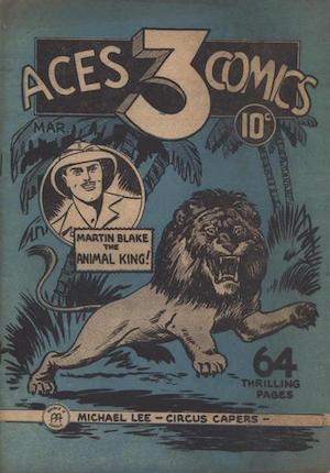 Three Aces Comics v1 #3