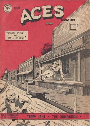Canadian Whites: Three Aces Comics v4 #2