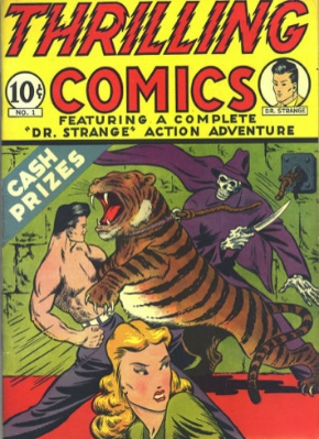Thrilling Comics #1: First Appearance, Doc Strange. Click to find out the value of this rare comic book
