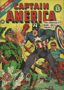 Captain America: #4 most popular of Marvel Comics characters