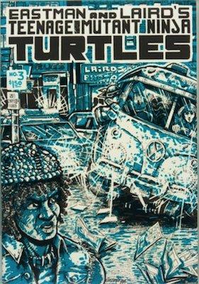 Teenage Mutant Ninja Turtles #3 (1985): Laird's Photo Comic Con Variant. Click for value
