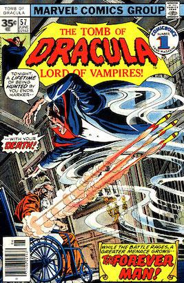 Tomb of Dracula #57 35c Variant
