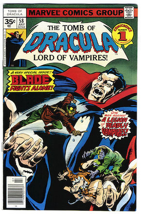 Tomb of Dracula #58 35 Cent Variant