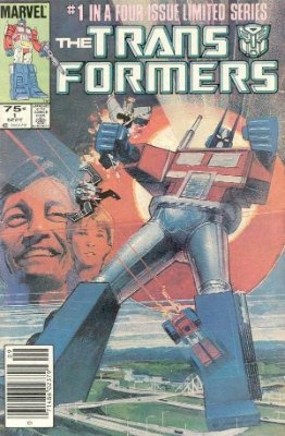 Click to see the value of Transformers Comics #1