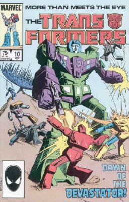 Click to see the value of Transformers Comics #10