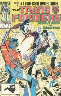 Click to see the value of Transformers Comics #2