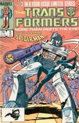 Click to see the value of Transformers Comics #3