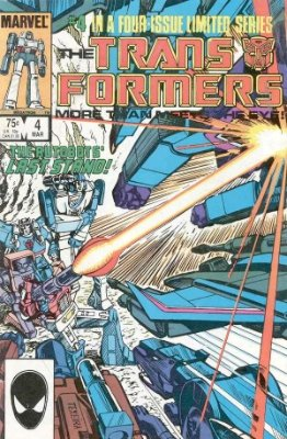 Click to see the value of Transformers Comics #4