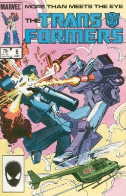 Click to see the value of Transformers Comics #6