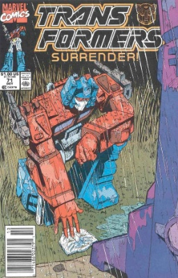 Click to see the value of Transformers Comics #71