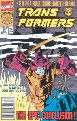 Click to see the value of Transformers Comics #80