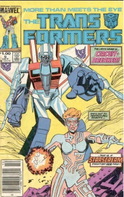Click to see the value of Transformers Comics #9