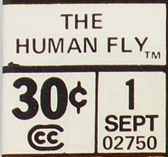 A typical, regular 30 Cent edition price box