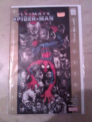 Ultimate Spiderman #100 Gold