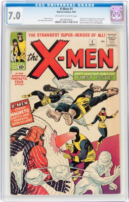 If you buy a CGC 7.0 of X-Men 1, you are shopping in the top 12 percent of the available copies for only 50 percent more than a 5.0. Click to find a copy now