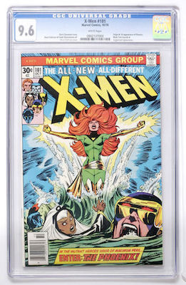 In 9.8, Uncanny X-Men #101 is a $2K comic book. We recommend a CGC 9.6 with white pages. Click to find a copy now