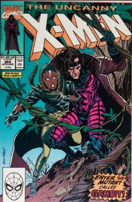 Uncanny X-Men #266: first Gambit. Click for values