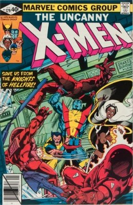 Origin and First Appearance, Sebastian Shaw, Uncanny X-Men #129, Marvel Comics, 1980. Click for value
