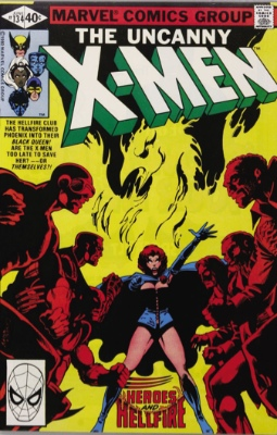 Dark Phoenix (First Appearance: Uncanny X-Men #134, June, 1980). Click for value