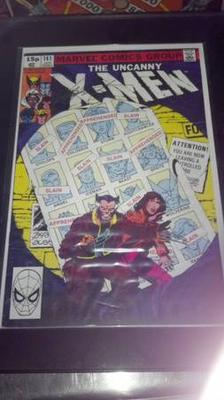Uncanny X-MEN #141 signed by C. Claremont